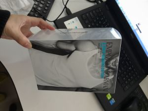 OEM clear folding plastic printing underwear packaging(PVC box) pictures & photos