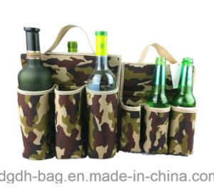Top Quality Insulated 6 Pack Neoprene Wine Cooler Bottle Holder pictures & photos