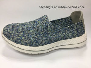 2017 Hot Sale Handmade Shoe Casual Shoe Woven Shoe pictures & photos