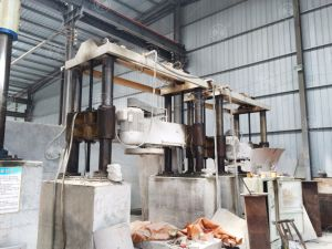 Yhqj-2500 Four Cylinder Column Slab Arc Slab Gantry Stone Cut Machine pictures & photos