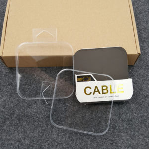 transparent plastic electronic box earphone packaging(PP box) pictures & photos