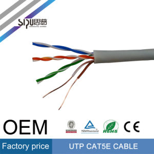 Sipu 0.5CCA UTP Cat5e Cable Low Price Cat5 Network Cable