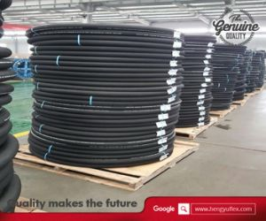 SAE R17 Flexible Weather Resistant Synthetic Rubber Hydraulic Hose pictures & photos