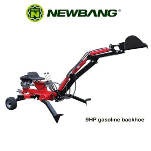 9HP Gasoline Backhoe pictures & photos