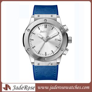 High Quality Waterproof Man Stainless Steel Quartz Watch pictures & photos