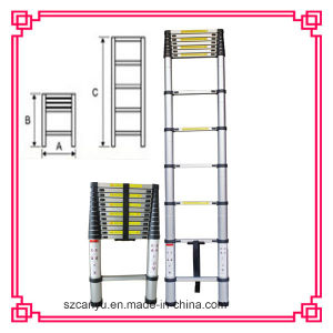 2.6m/3.2m/3.8m/4.4m En131-6 Telescopic Ladder, Aluminum Step Ladder, Ladder Aluminum pictures & photos