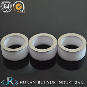 High Precision Glazing Alumina Metallized Ceramic Part pictures & photos