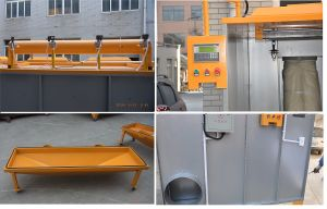 Manual Powder Coating Spray Booth for Metal Spray pictures & photos
