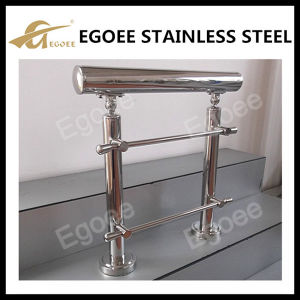 Floor Mounting Stainless Steel Flange Handrail pictures & photos