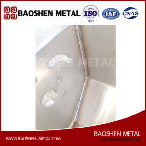 Sheet Metal Fabrication Stainless Steel Machinery Parts Quality-Oriented Mannual Welding Craft pictures & photos