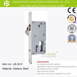 Mortise Door Hardware Lockset Lockbody Stainless Steel pictures & photos
