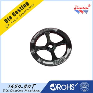 ISO Certification Aluminum Die Casting Sand Blasting Handwheel pictures & photos