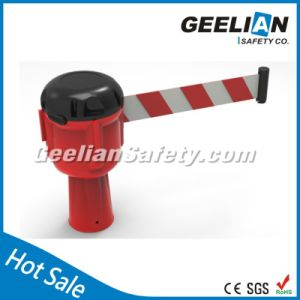 2m/3m/5m/8m/10m Used High Quality Wall Mounted Retractable Belt Barrier pictures & photos