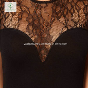 Hot Sale Fashion European Lace Vest Skirt Women Sexy Dress pictures & photos