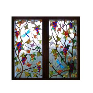 Medieval Home Decoration Good Stained Glass Tiles Windows Craft Patterns pictures & photos