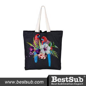 Canvas Tote Bag (Black) (HBD09K) pictures & photos