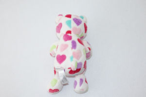 2017 New White Pink Heartsplush Stuffed Animal Teddy pictures & photos