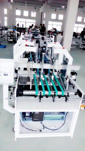Quality Gluing Machine for Cardboard Box Making (GK-650CB) pictures & photos
