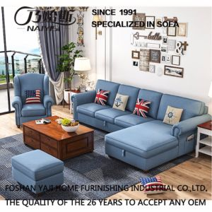 American Country Style Leisure Fabric Sofa for Home Furniture M3002 pictures & photos