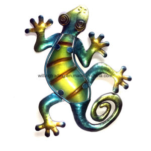 New Metal Gecko Wall Art Garden Decoration