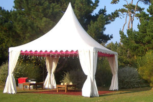 High Peak Aluminum Frame Pagoda Tent 3X3 for Outdoor Party pictures & photos