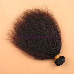 Top Quality Indian Virgin Human Hair Bundles Virgin Hair Weaving Products Virgin Kinky Straight Hair Extensions