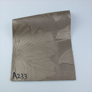 2017 Fashionable Printed PU PVC Synthetic Leather for Decorative (A233) pictures & photos