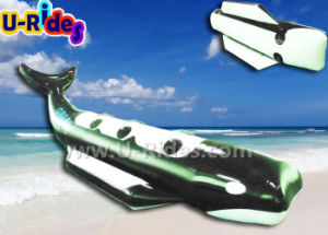 Black Color Shark Banana Boat for Fun pictures & photos