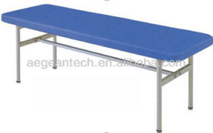 AG-Ecc04 Medical Stainless Steel Economic Treatment Exam Bed pictures & photos