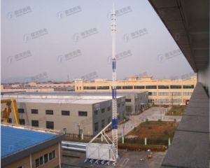 Hot DIP Galvanized Integrated Telescopic Steel Tower Station pictures & photos