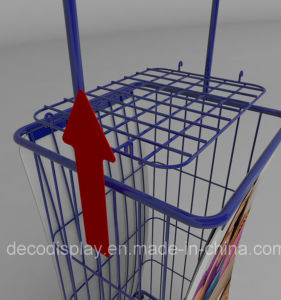 Supermarket Iron Display Shelf Metal Display Rack for Promotion pictures & photos