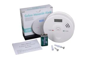 Home Smart Security System Co Gas Detector with 9V Battery pictures & photos
