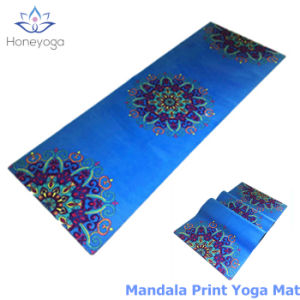 Mandala Print Ultra Absorbent Microfibre Anti Slip Exercise Pilates Yoga Mat with Private Label pictures & photos
