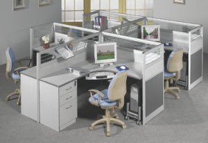 Classic Design Small Workstation Desk for Office pictures & photos