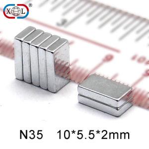 Zinc Square Permanent Neodymium Magnet pictures & photos
