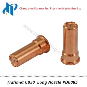 Trafimet CB50 Plasma Cutting Torch Consumables Long Nozzle Tip Pd0085 pictures & photos