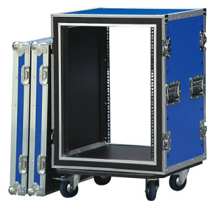 "19"" Flight Case with Wheels for Audio"