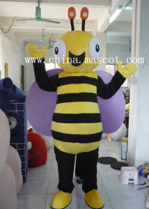 Diligent Bees Mascot Costume