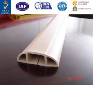 PVC Extrusion Product, PVC Cable Crosser, Cable Protector Pipe, Temporary Floor Cable Protector, Plastic Cable Protector pictures & photos