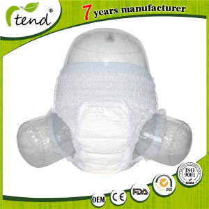Best Overnight Disposable Incontinence Pants Underwear Adult Pull up Diapers Pull on Nappies pictures & photos
