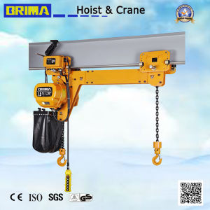 3t Brima High Girde Electric Chain Hoist with Hook (fixed type) pictures & photos