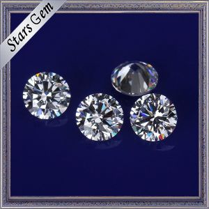 Aaaaa High Grade Clear White Synthetic Cubic Zirconia Stones for CZ Jewelry pictures & photos
