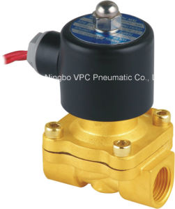 "110V AC or 12V DC Electric Solenoid Valve Water Air Gas, Fuels N/C - 1/2"" pictures & photos"