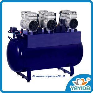 Oil Free Air Compressor with 6ew pictures & photos