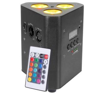 3PCS 10W RGBW/RGBA 4in1 Battery-Operated Wedge LED PAR Light pictures & photos
