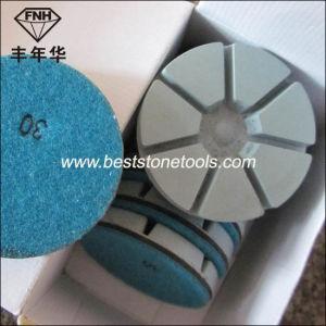 Wet Dry Diamond Floor Grinding Pad for Terrazzo Concrete Polishing pictures & photos
