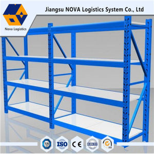Medium Duty Long Span Steel Rack with Shelving pictures & photos