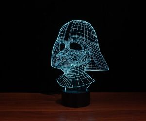 LED 3D Illusion Night Light (QCY112) pictures & photos