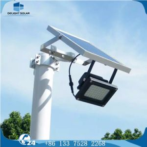 Hot-DIP Galvanized Steel Outdoor Flood Light Solar LED Street Lamp pictures & photos