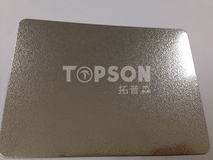 201 304 316 Metal Sheet Stainless Steel Plate with Embossed Colored Good Quality pictures & photos